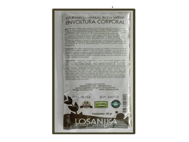 Ayurvedic Herbal Body Masque ( Mascarilla Corporal)